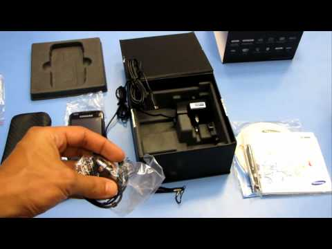 Samsung i8000 Omnia II. unpacking