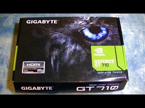 NVIDIA GeForce GT 710 ( обзор и тест играми)