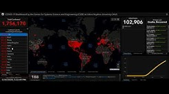 COVID-19 Pandemic   Global COVID-19 cases near 6 million, with 365 000 deaths