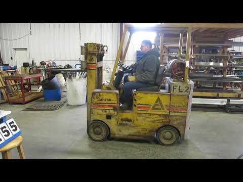Allis-Chalmers Model ACC40 Forklift - YouTube