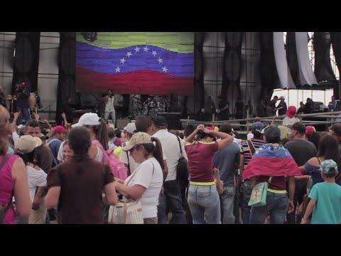 afpes: En Venezuela, chavismo abre tres días de concierto en frontera