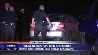 Uber driver shot outside Dallas apartment complex