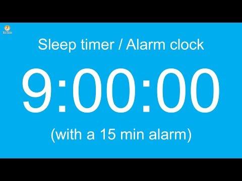 9 hour Sleep timer / Alarm clock (Normal version)