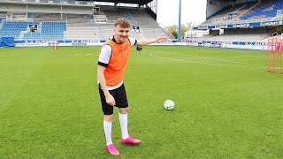 Fußball Legende trainiert uns im Stadion 🇫🇷   ViscaBarca