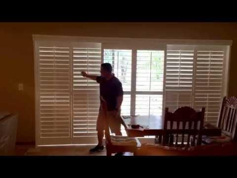 Sliding Shutter Doors