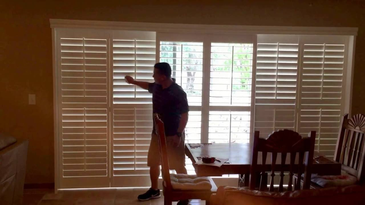 Sliding Shutter Doors Youtube