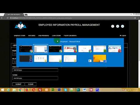Employee Information and Payroll Management System, Employee Management System