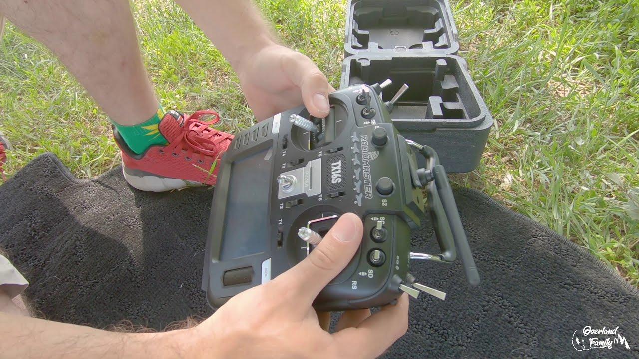 Radiomaster TX16S обзор и первый полет картинки