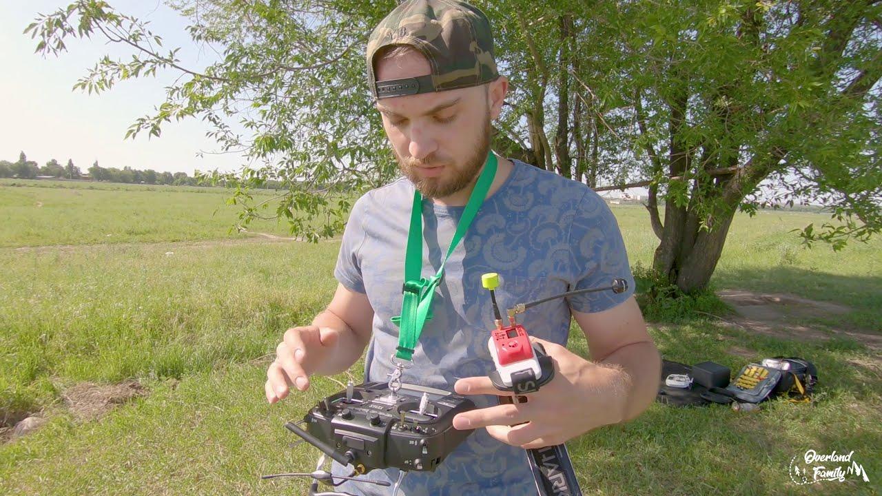 Radiomaster TX16S обзор и первый полет фотки
