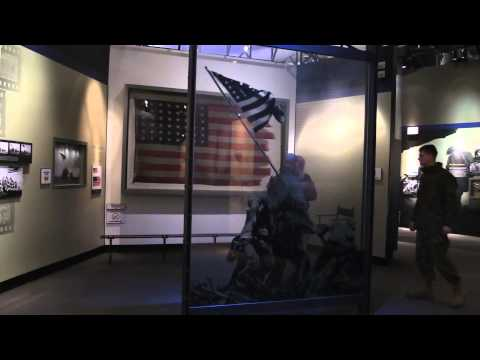 Iwo Jima flag preserved well at National Museum of the Marine Corps