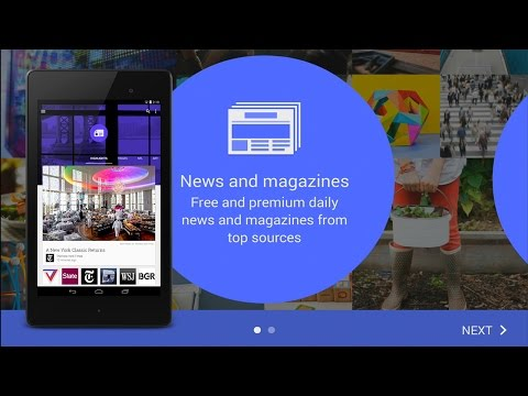 Google Play Newsstand Material Design Hands On