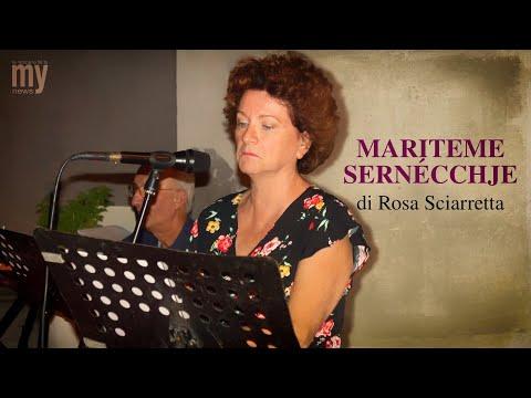 «Mariteme sernécchje» di Rosa Sciarretta