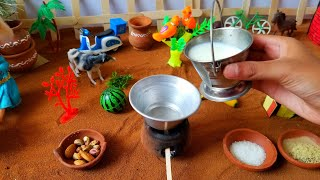 Homemade Ice cream/Miniature kulfi Icecream/Indian IceCream/kulfi recipe/Mini food/Miniature cooking