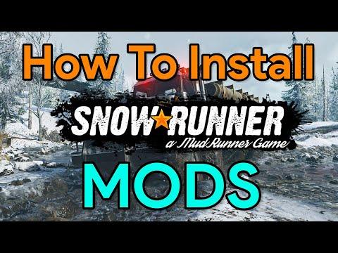 Spintires: Snowrunner | How To INSTALL Mods | Snowrunner Tutorial