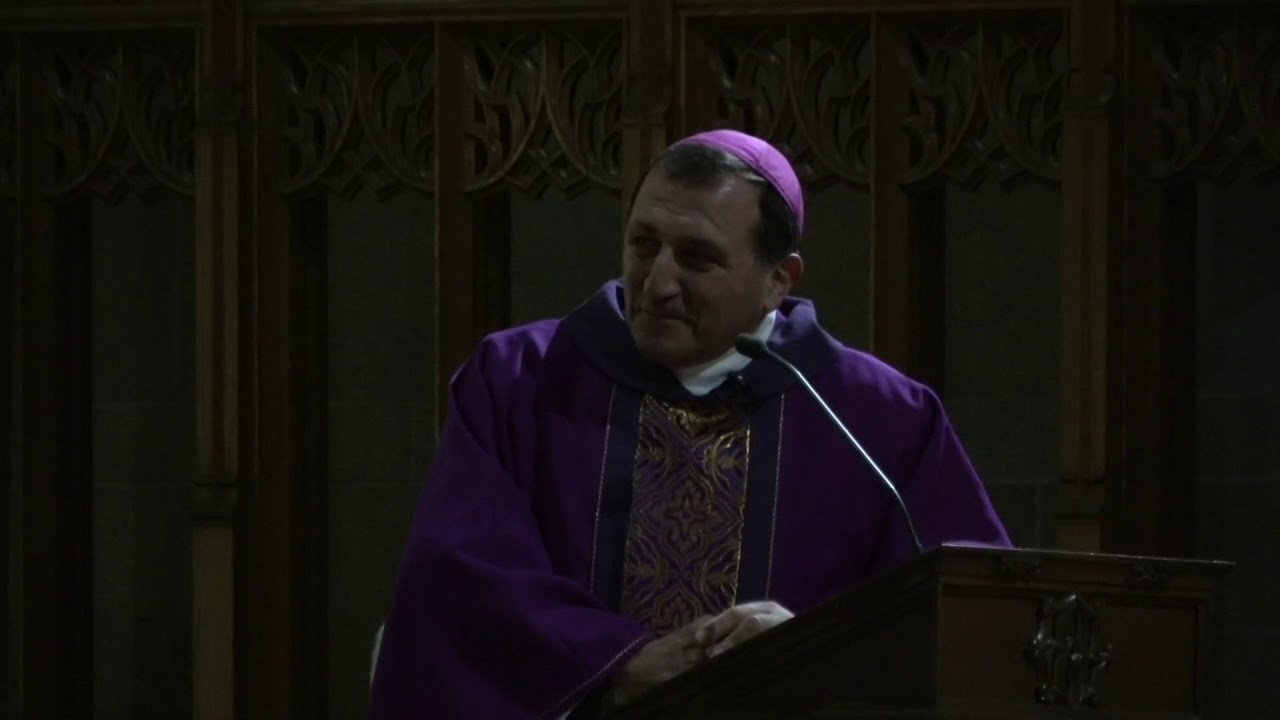 Bishop Chbeir at St Mary's Cathedral  12-16-17