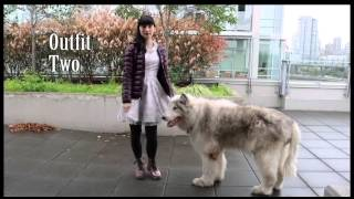Kawaii outfits for walking your direwolf! Rainy Days