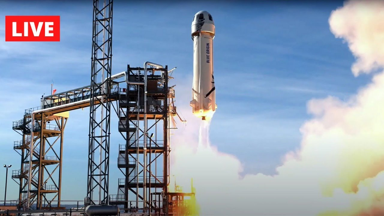 Live Now: Jeff Bezos going to space with Blue Origin - LIVE 24/7