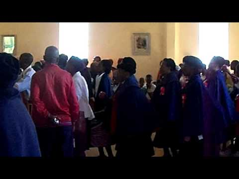 Arrival of the Archbishop of Lesotho at our church
