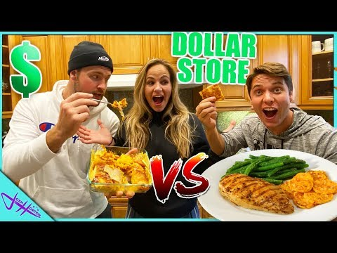 BEST DOLLAR STORE MEAL WINS! *Cooking Challenge!*