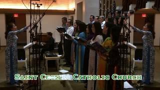 Ca đoàn Teresa Hài Đồng Giêsu  Saint Cecilia Catholic Tustin California 2018