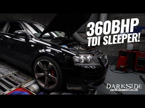 AUDI A3 2.0 TDI BKD SLEEPER! 360BHP - 520FT/LBS - Darkside Developments
