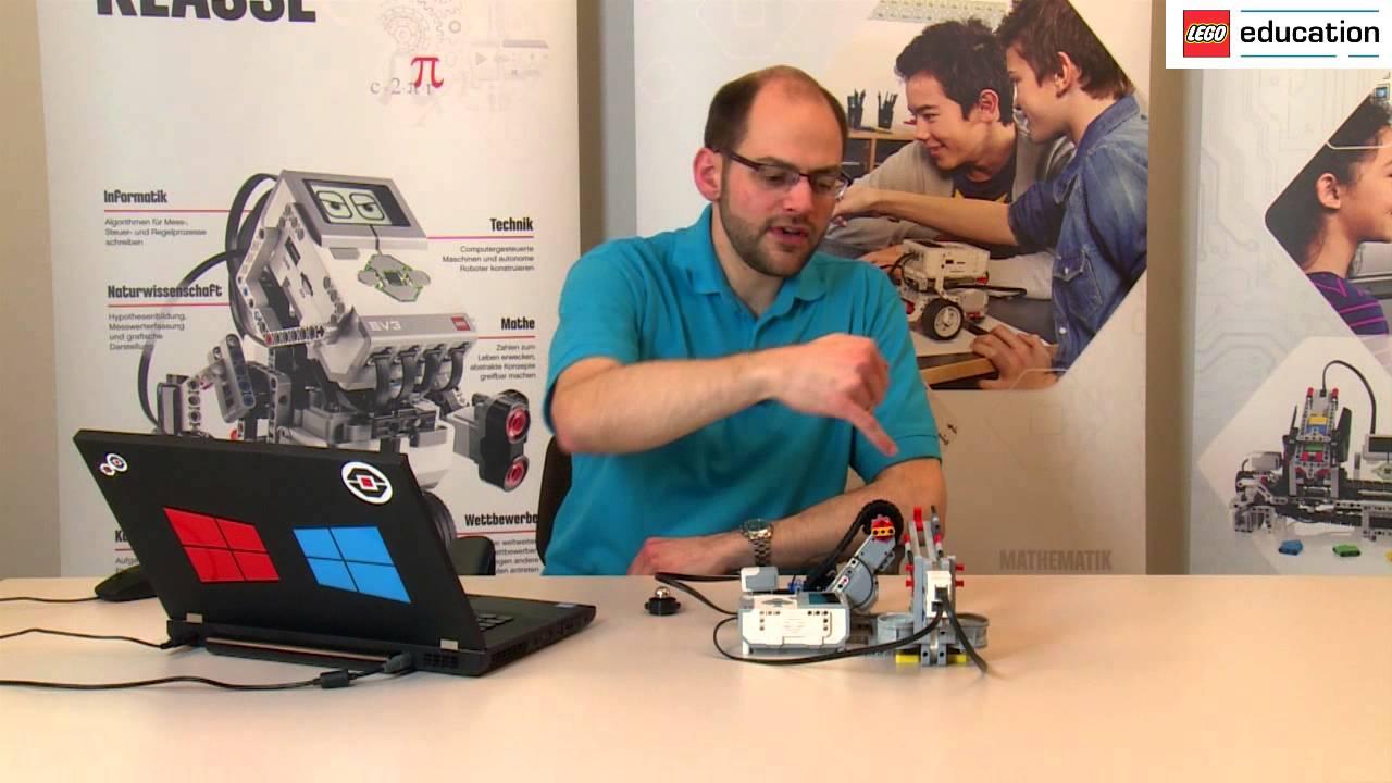 LEGO MINDSTORMS Education 10 Roboter-System - eine Kugel bewegen