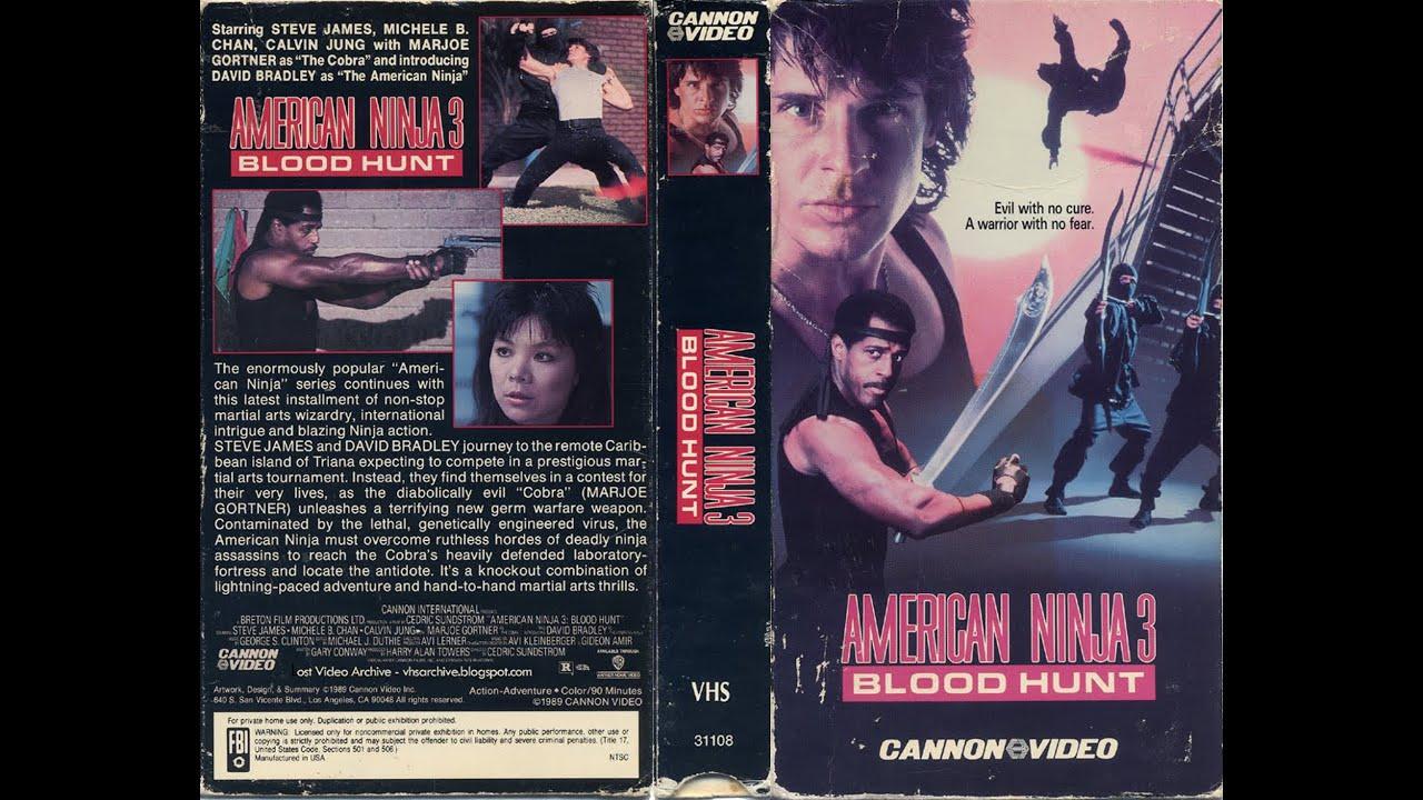 American Ninja 3 Blood Hunt 1989 Movie Blu Ray Review