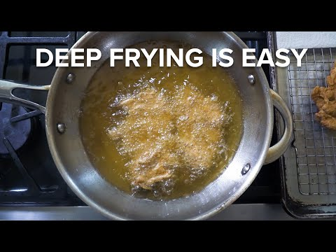Deep Frying at Home is a GREAT IDEA | A response to Adam Ragusea