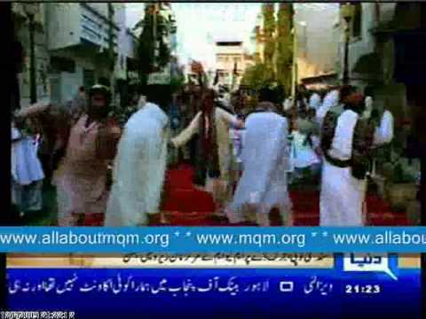 MQM Celebrated Sindhi Topi & Ajrak Day
