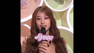 티아라 지연 음악중심MC 마지막 방송
