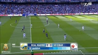 Video Gol Pertandingan Eibar vs Real Madrid