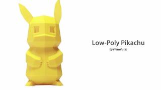 3D Printed Pikachu by Flowalistik - Ultimaker: 3D Printing Timelapse