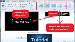 Download Video Tutorial Windows Movie Maker 2012 | Empat Langkah Dasar Mengedit Video MP3 3GP MP4
