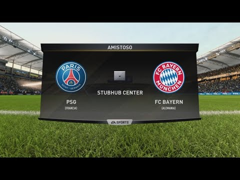 FIFA 18 - Gameplay - PSG vs Bayern de Munich Multiplayer