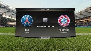 Baixar FIFA 18 - Gameplay - PSG vs Bayern de Munich (Multiplayer)