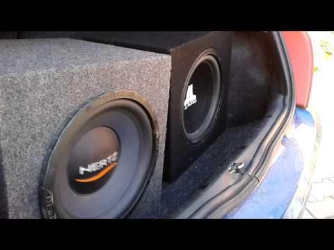 JL Audio 12w3v2D4 & Hertz ES300 - Renault Clio 2