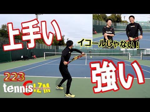 テニスシングルス試合テニ吉因縁の相手ハッシーに挑むtennisism223