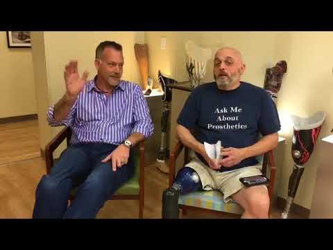 Tony Walker Comedian & Amputee Interview Dan Bastian Facebook Live