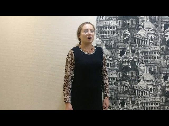 Изображение предпросмотра прочтения – ОльгаДзюба читает произведение «Баллада о борьбе» В.С.Высоцкого