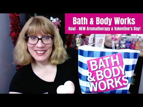 Bath & Body Works Haul NEW Aromatherapy & Valentine's Day!