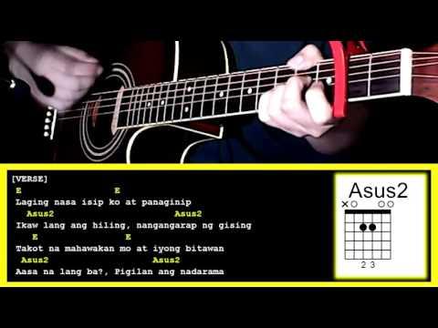 Hanggang Tingin Na Lang by Gimme 5-Guitar Chords & Strumming Pattern
