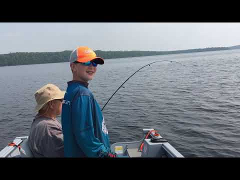 Ron's Catch Of The  Day! Poplar Point Resort 2019