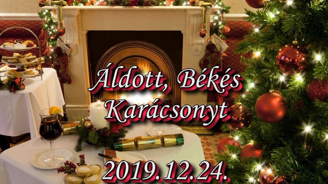 Áldott Békés Karácsonyt 2019