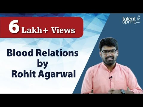 Blood Relations by Rohit Agarwal | Reasoning Tricks | TalentSprint