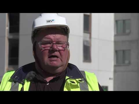 Rakentamisen Laatuteko 2016 -finalisti: Vastaava mestari Matti Nurkka, SRV,  Joensuu