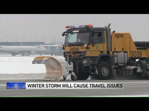 Major Winter Storm Likely To Cause Problems On Roads, Lakefronts And Chicago Airports