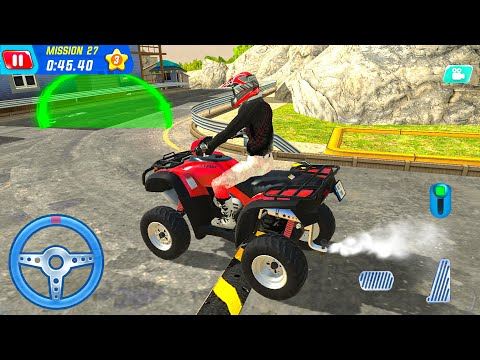 4x4 Bike Driving Games 2021| Offroad Emergency Beach Rescue Team | Android Gameplay