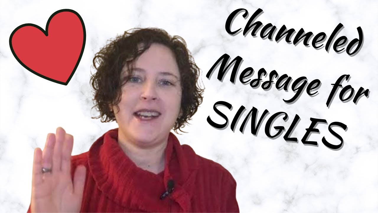 Channeled Message for SINGLES ! #valentinesday #feb14 #love #channelledmessage #single #valentine