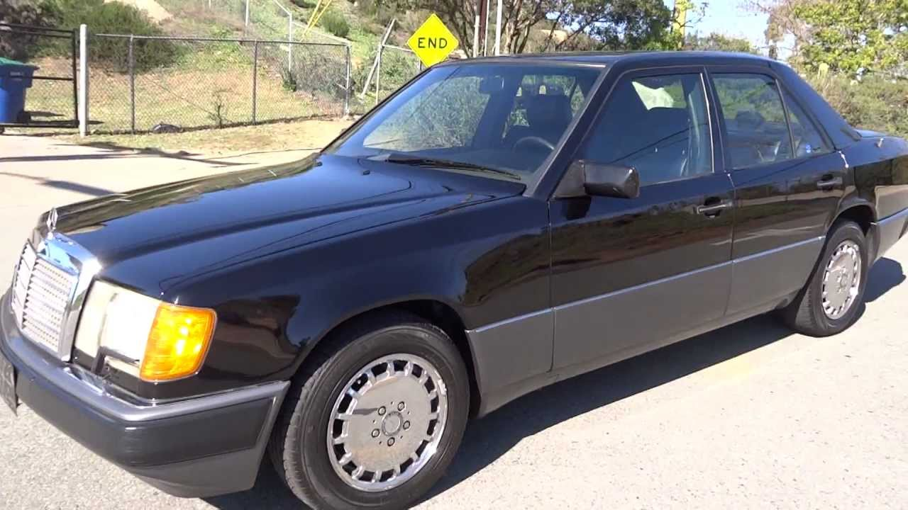 1993 mercedes benz 300e 3 2 w124 sedan early e320 6cyl for Mercedes benz 1990 e300
