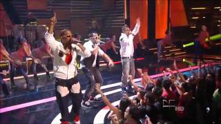 Gocho feat. Jowel y Randy: Dándole Remix @ Premios Juventud 2011